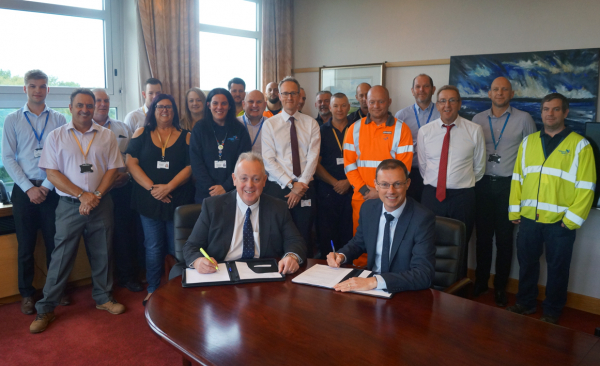 Portsmouth Water and Cappagh Extend Business Relationship for a further 5 years
